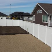 Full Privacy PVC Fence