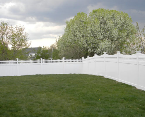 PVC fence at wholesale
