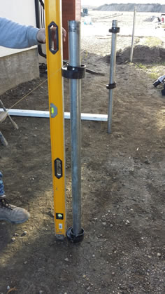 Setting Post Collars