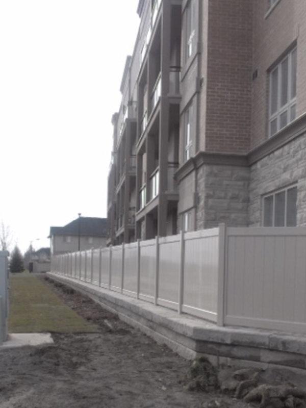 Apartment Fence