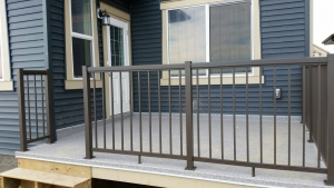 CSW Bronze Picket Railing