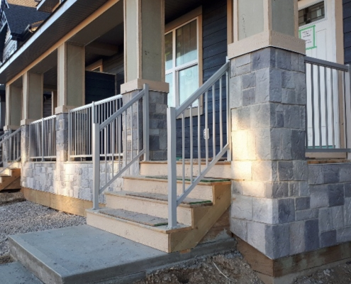 Silver Picket Railing 5