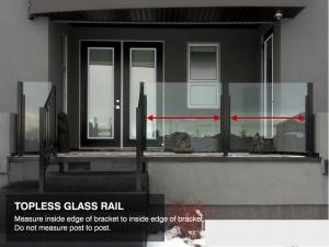 standard glass rail