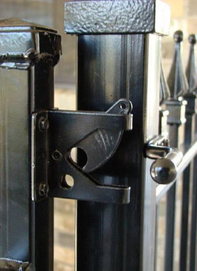 Metal Gate Latch 1